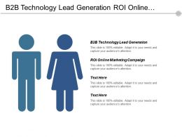 B2b Technology Lead Generation Roi Online Marketing Campaign Cpb