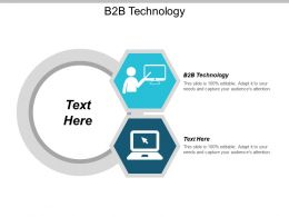 B2B Technology Ppt Powerpoint Presentation Gallery Templates Cpb