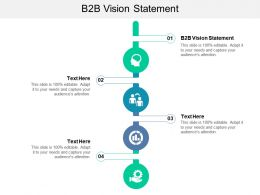 B2B Vision Statement Ppt Powerpoint Presentation Slides Tips Cpb