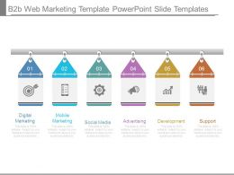 B2b Web Marketing Template Powerpoint Slide Templates