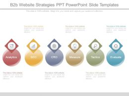 B2b Website Strategies Ppt Powerpoint Slide Templates