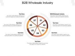 B2B Wholesale Industry Ppt Powerpoint Presentation Infographic Template Icon Cpb