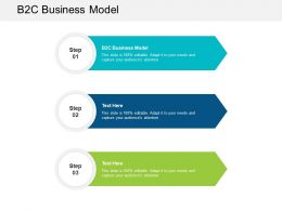 B2C Business Model Ppt Powerpoint Presentation Professional Vector Cpb