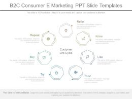 B2c Consumer E Marketing Ppt Slide Templates