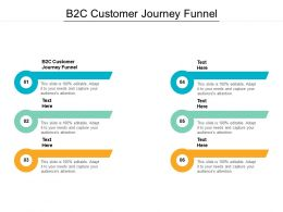 B2c Customer Journey Funnel Ppt Powerpoint Presentation Portfolio Portrait Cpb