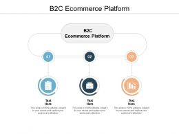 B2C Ecommerce Platform Ppt Powerpoint Presentation Layouts Template Cpb