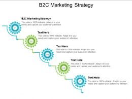 B2C Marketing Strategy Ppt Powerpoint Presentation File Graphics Template Cpb