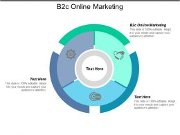 B2c Online Marketing Ppt Powerpoint Presentation File Graphic Tips Cpb