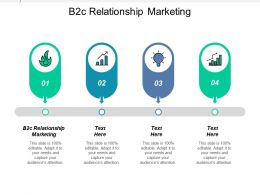 B2c Relationship Marketing Ppt Powerpoint Presentation Gallery Inspiration Cpb