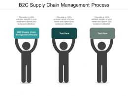 B2C Supply Chain Management Process Ppt Powerpoint Presentation Gallery Example Cpb