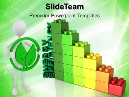 Baby Building Blocks Powerpoint Templates Energy Efficiency Lego Growth Ppt Slide