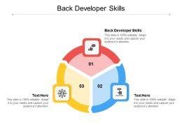 Back Developer Skills Ppt Powerpoint Presentation Inspiration Designs Download Cpb