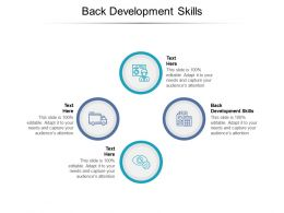 Back Development Skills Ppt Powerpoint Presentation Slide Cpb