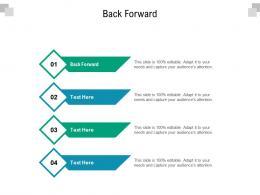 Back Forward Ppt Powerpoint Presentation Outline Slides Cpb