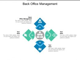 Back Office Management Ppt Powerpoint Presentation Infographics Graphics Cpb