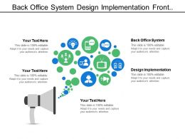 Back Office System Design Implementation Front Office System