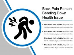 Back Pain Person Bending Down Health Issue