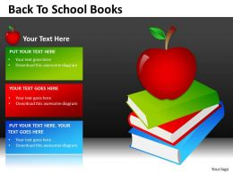 Back To School Books2 ppt 2