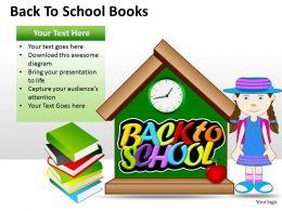 Back To School Books ppt 1