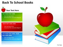 Back To School Books ppt 2