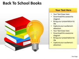 Back To School Books ppt 3