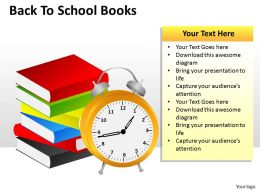 Back To School Books ppt 4