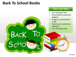 Back To School Books ppt 6