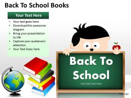 Back To School Books ppt 7
