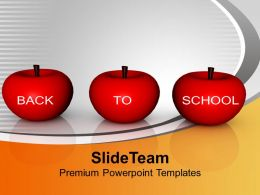 Back To School Concept Education PowerPoint Templates PPT Themes And Graphics 0113