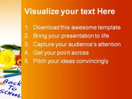 Back To School Education PowerPoint Template 0810  Presentation Themes and Graphics Slide02