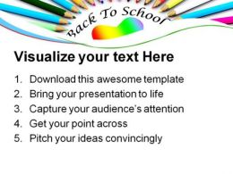 Back To School Education PowerPoint Templates And PowerPoint Backgrounds 0911