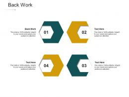 Back Work Ppt Powerpoint Presentation Outline Ideas Cpb