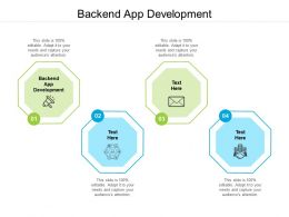 Backend App Development Ppt Powerpoint Presentation Gallery Guide Cpb