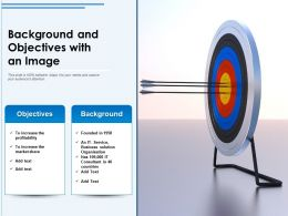 Background And Objectives With An Image