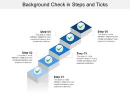 Background Check In Steps And Ticks