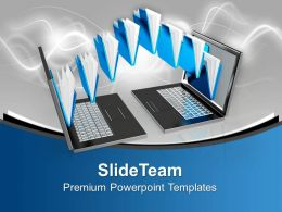 Background Image For Computer Templates And Powerthemes Business Presentation Chart