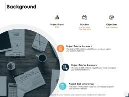 Background Objectives Planning Ppt Powerpoint Presentation Gallery Gridlines