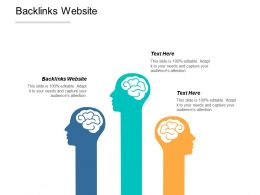 Backlinks Website Ppt Powerpoint Presentation Infographic Template Structure Cpb