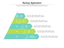 Backup Application Ppt Powerpoint Presentation Model Aids Cpb