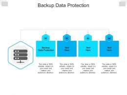 Backup Data Protection Ppt Powerpoint Presentation Professional Maker Cpb
