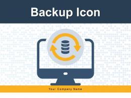 Backup Icon Restoration Business Document Database Storage