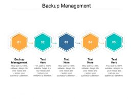 Backup Management Ppt Powerpoint Presentation Infographic Samples Cpb