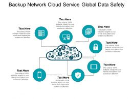 Backup Network Cloud Service Global Data Safety