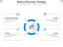 Backup Recovery Strategy Ppt Powerpoint Presentation Ideas Summary Cpb