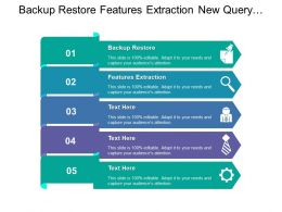 Backup Restore Features Extraction New Query Ability Own