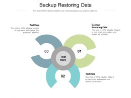 Backup Restoring Data Ppt Powerpoint Presentation Gallery Infographics Cpb