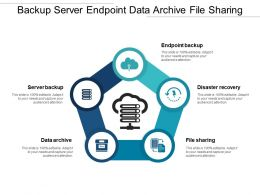 Backup Server Endpoint Data Archive File Sharing