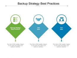 Backup Strategy Best Practices Ppt Powerpoint Presentation Professional Cpb