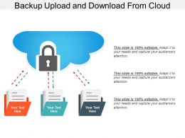 Backup Upload And Download From Cloud