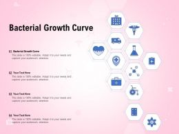 Bacterial Growth Curve Ppt Powerpoint Presentation Icon Background Images